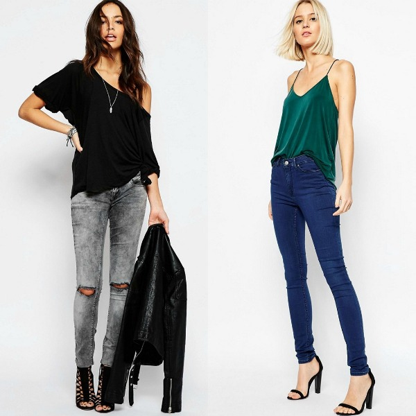 Club outfits for ladies with jeans