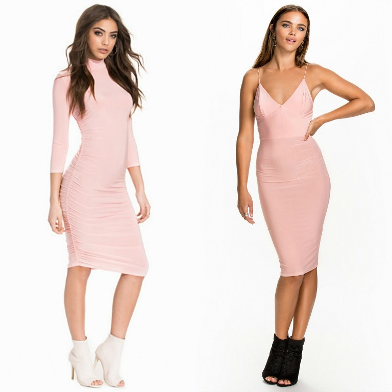 Pink dresses for clubwear