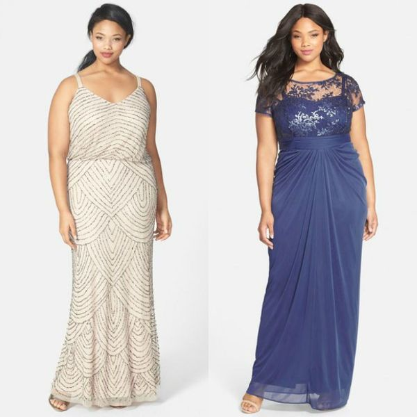 Wedding guests dresses | Plus size formal wedding guests dresses