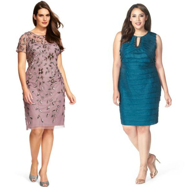 Wedding guests dresses | Plus size midi wedding guests dresses