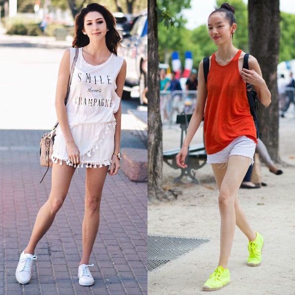 Summer outfits for school with shorts