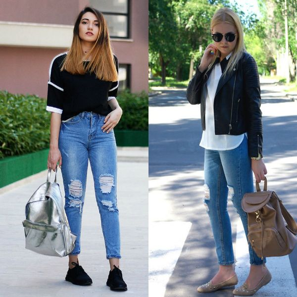 Casual cute outfits for school with skinny jeans