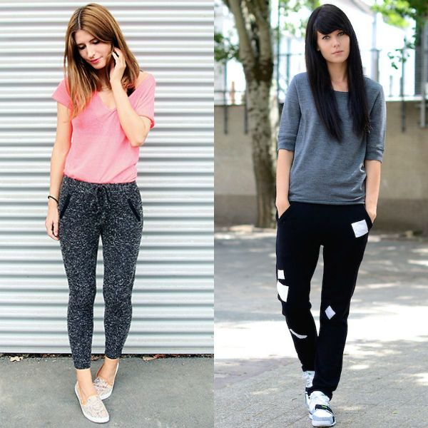 Casual cute outfits for school with sweatpants