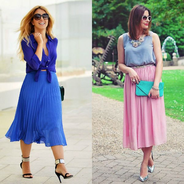 Casual outfits ideas that radiate romance and femininity can be complemented with fabulous high-heel sandals and stilettos