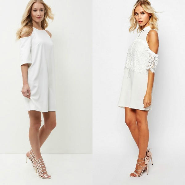 White dresses for clubwear