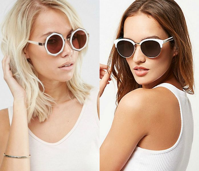 Sunglasses 2017 | White sunglasses
