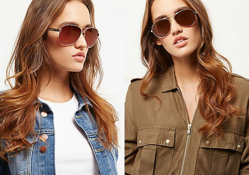 Sunglasses 2017 | Women's aviators sunglasses
