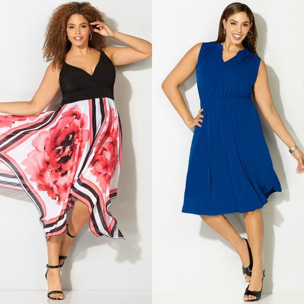 Style for plus size apple shape