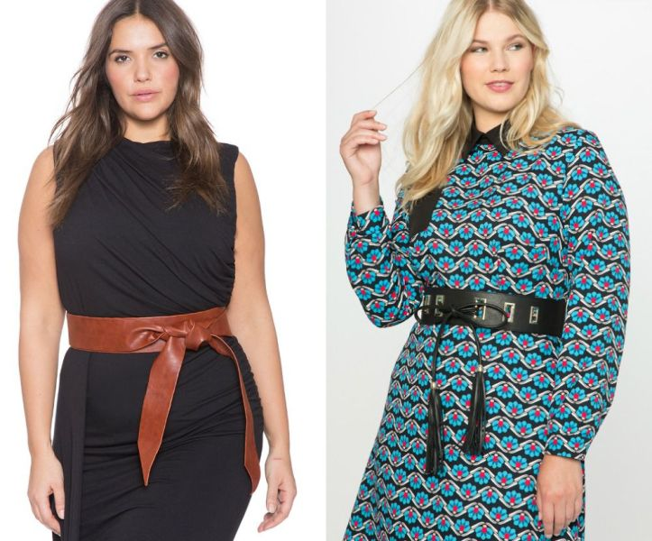 Belts for plus size outfits