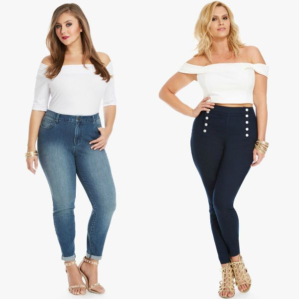Plus size outfits with jeans for plus size women
