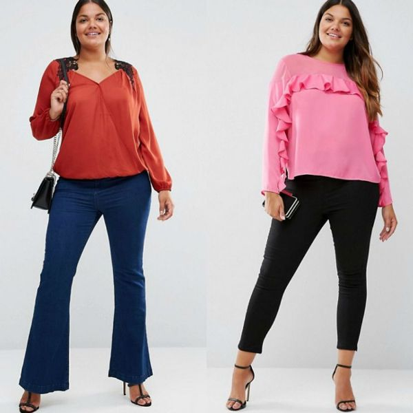 Plus size outfits with plus size blouses for women