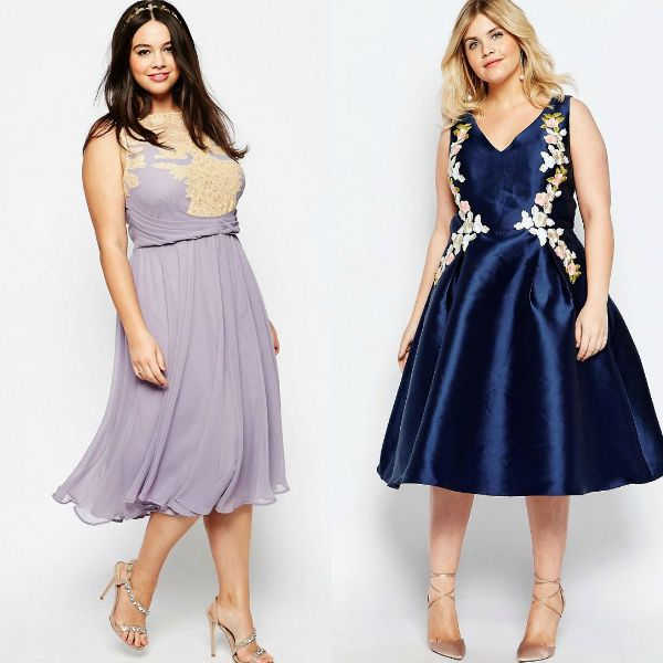 Plus size dresses | Best dress style for plus size bridesmaid