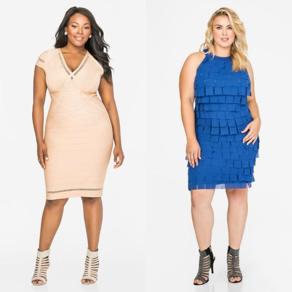 Plus size outfits with club dresses