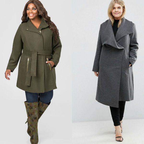 Plus size outfits with coats