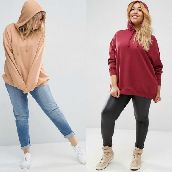 Plus size outfits with hoodies