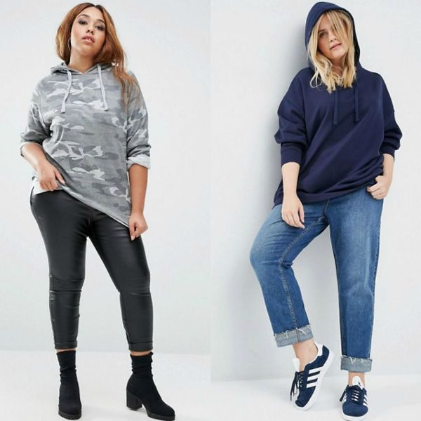 Lightweight hoodie for plus size outfits