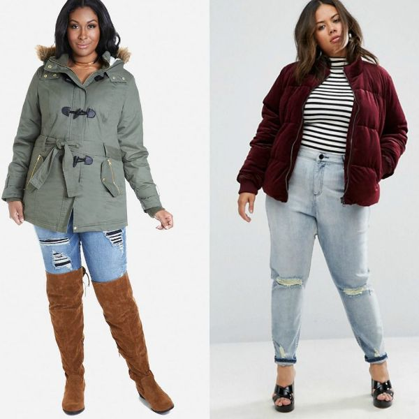 Plus size outfits with jackets