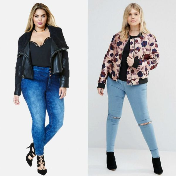 Plus size outfits with trendy coats