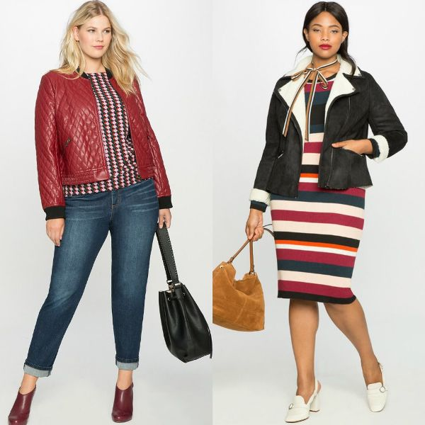 Plus size outfits with winter coats