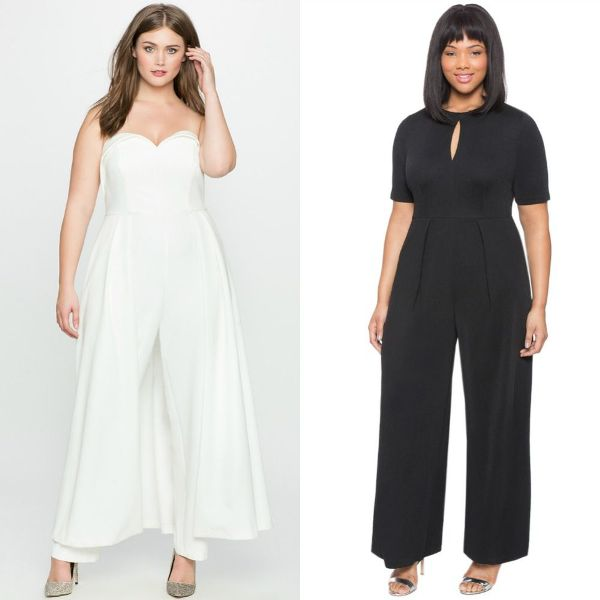 Plus size outfits with jumpsuits for women