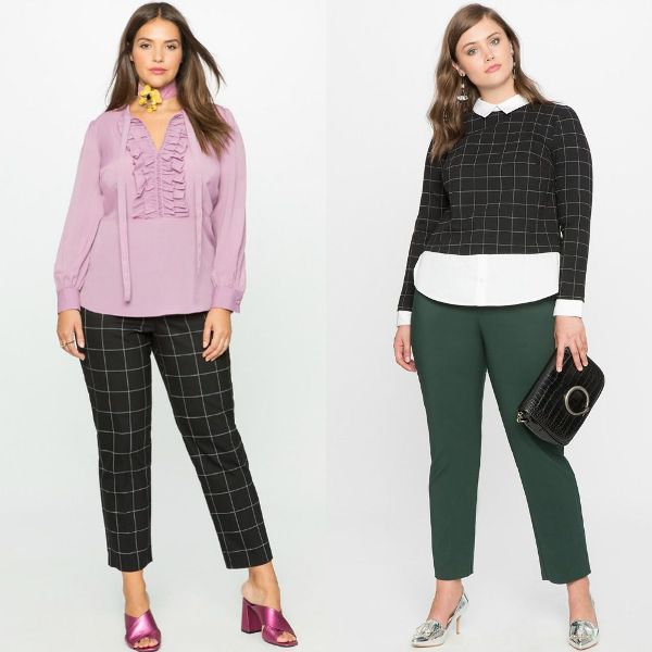 Plus size outfits with pants