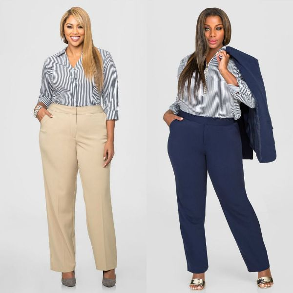 Trendy plus size outfits