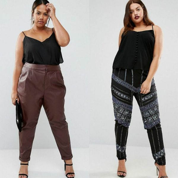 Plus size outfits with trousers