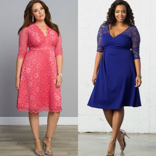 Best dress style for plus size pear shape