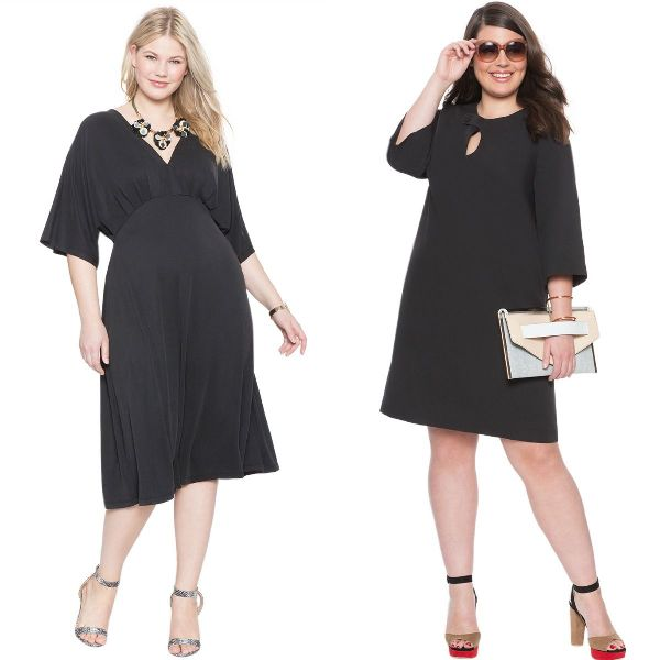 Plus size dresses | Black dresses for plus size women