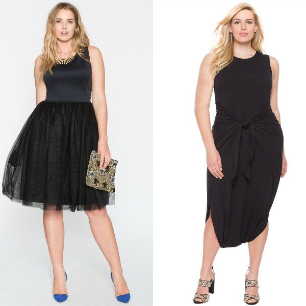 Plus size dresses | Plus size black dresses