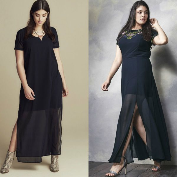 Plus size dresses | Black dress plus size