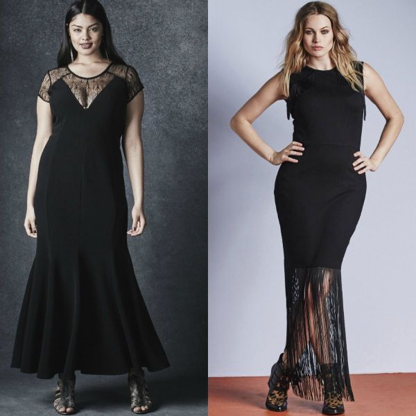 Plus size dresses | Black plus size dresses