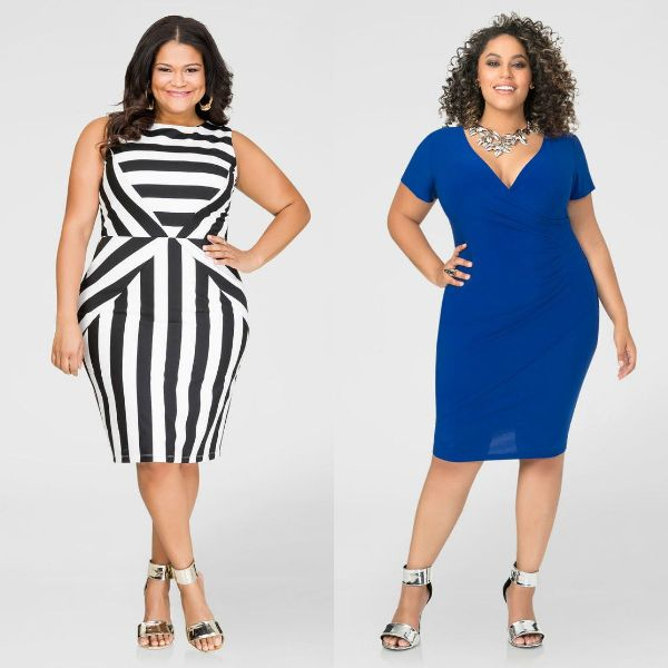 Plus size dresses | Plus size dresses knee length