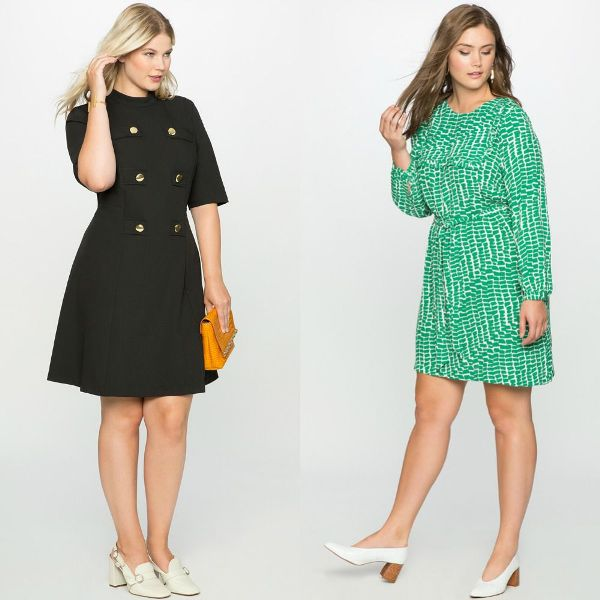 Plus size outfits with formal dresses