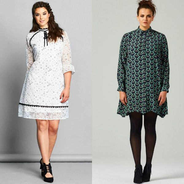Plus size outfits with short dresses