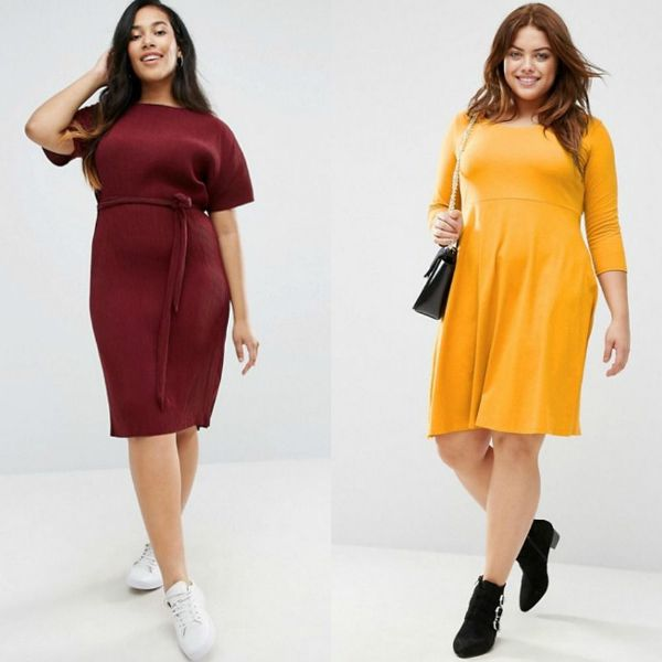 Plus size outfits women's dresses