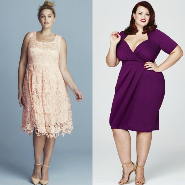 Plus size dresses | Plus size cocktail dresses