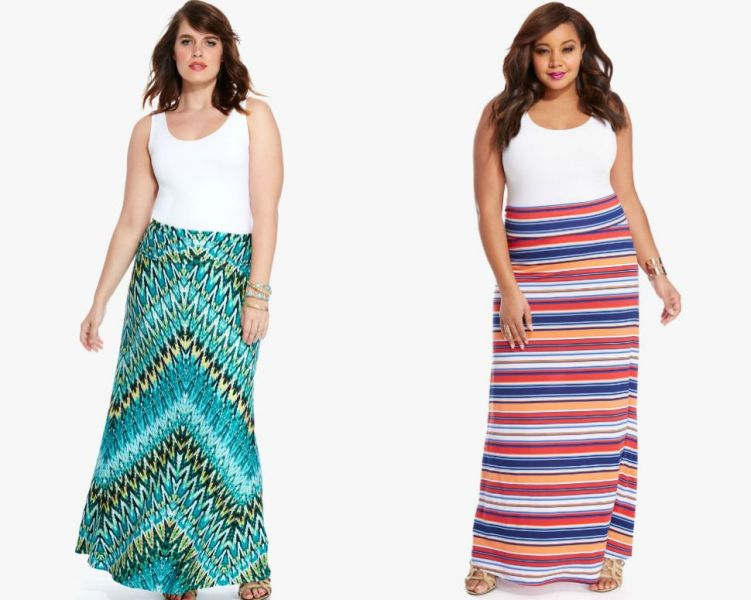 Plus size outfits with skirts