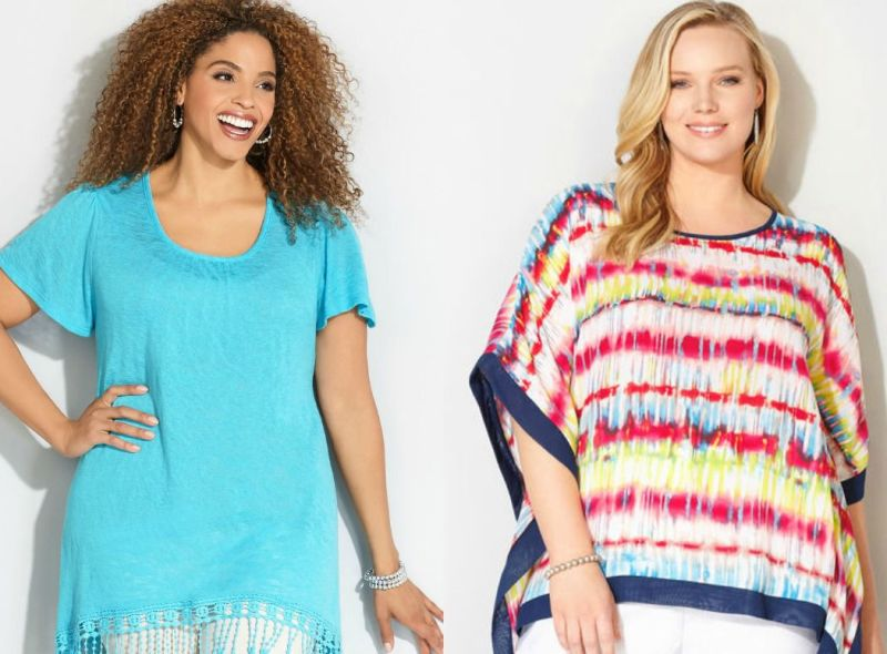Plus size outfits with plus size tops
