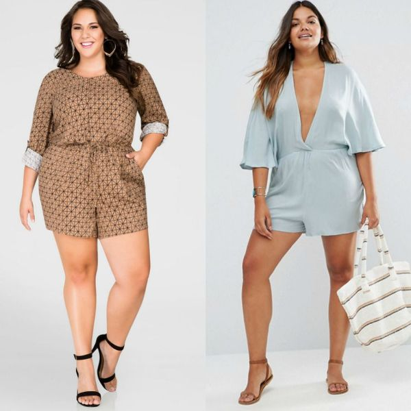 Plus size outfits with sexy rompers