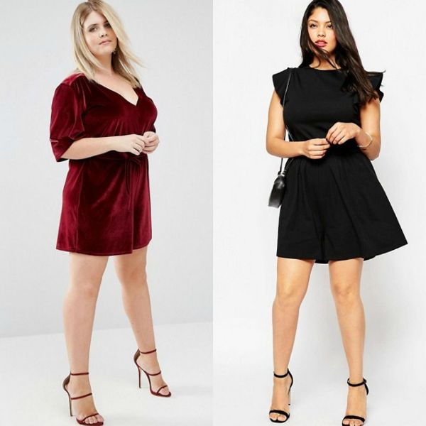 Plus size outfits with rompers