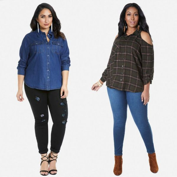 Plus size shirts for plus size outfits