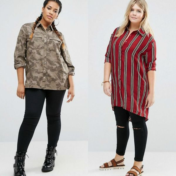 Large womens clothing for plus size outfits