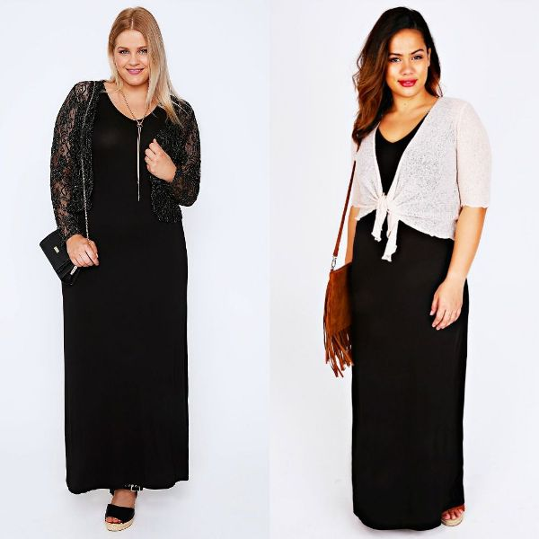Plus size outfits with shrugs for women