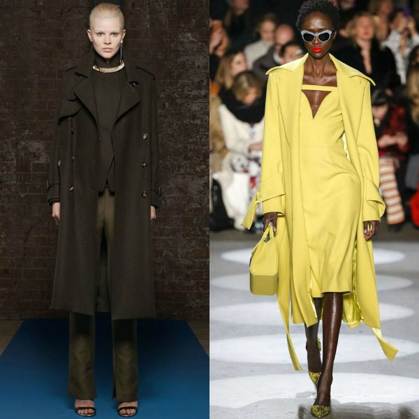 Fall-winter 2016-2017 trendy coats | Chiffon trench coats