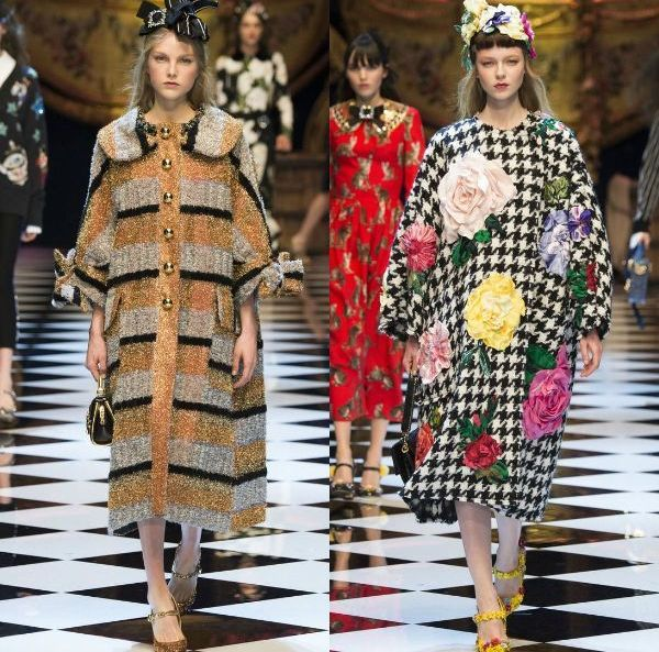 Fall-winter 2016-2017 trendy coats | Coats with prints