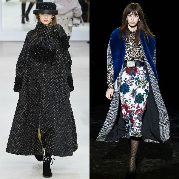 Fall/Winter 2017-2018 trendy long coats for women