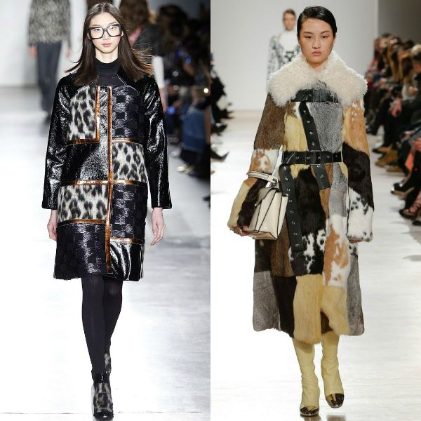 Fall-winter 2016-2017 trendy coats | Patchwork coat