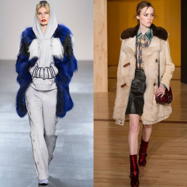Fake fur fall-winter 2016/2017 trendy jackets