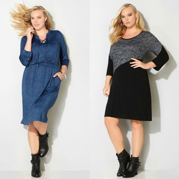 Plus size dresses | Plus casual dresses